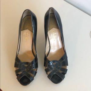 Cole Haan navy heels